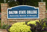 Dalton State College Sign